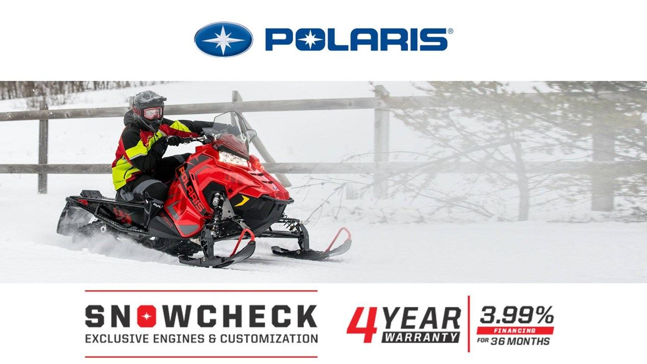 Polaris - SnowCheck - Exclusive Engines & Customization